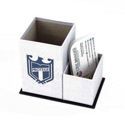 CRIE BRINDES - Porta canetas e cartões FSC