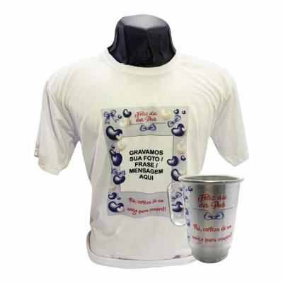 Monte o seu combo!!! Promoção: De: R$ 55,00 Por: R$ 39,99 a unidade 1 opção: Camiseta 100% poliés...