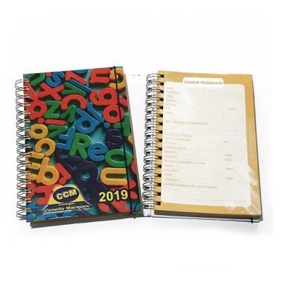 crie-brindes-eco-e-servicos-graficos - 184 folhas coloridas (368 páginas) Capa dura personalizada colorida com a arte do colégio (4x0)  1 página de dados do colégio institucional - 4x0 Core...