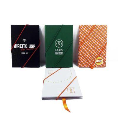 CRIE BRINDES - Caderneta de bolso