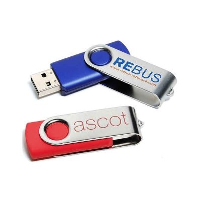 all-pen - Pen Drive 4 GB Giratório Personalizado