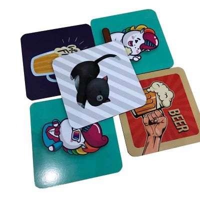 Comuniq Print - Porta copos 9x9, com arte à escolha do cliente, diversos temas disponível