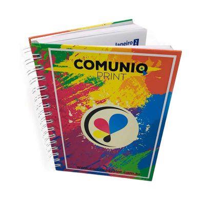Comuniq Print - Agenda personalizada capa dura