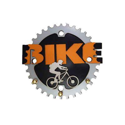 punch-master - Porta chaves em MDF formato bike