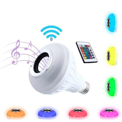 Chilli Brindes - Lampada LED Musical Bluetooth