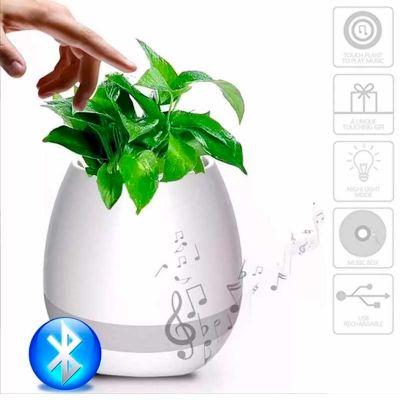 chilli-brindes - Vaso Musical Bluetooth Touch