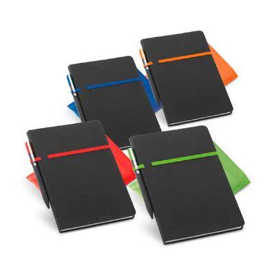 QAP Brindes Personalizados - Caderno Personalizado com Caneta