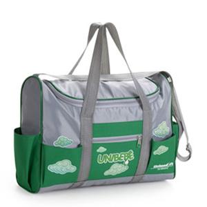 Jumas - Bolsa em nylon 70 com ziper, al�a de m�o e ombro, bolsos na frente e laterais. (MEDIDAS: 34x26x11 ).