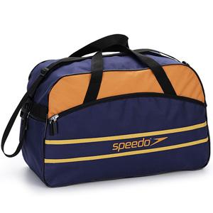 Jumas Produtos Promocionais - Mala nylon 600 com bolso na frente, bolso na lateral, alça de ombro e mão.