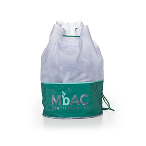 Jumas Produtos Promocionais - Mochila em PVC sarja com cordão de ombro.