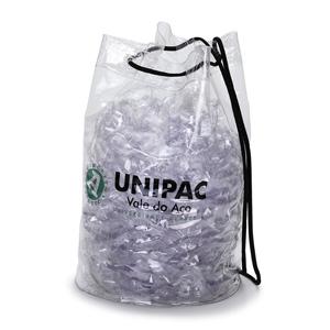 Jumas Produtos Promocionais - Mochila em cristal 020 com cordão de ombro. (MEDIDAS:20 diam x 32 alt).