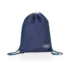 Mochila saco em nylon amassado, cordão duplo de ombro. MEDIDAS: 33cm x 40cm