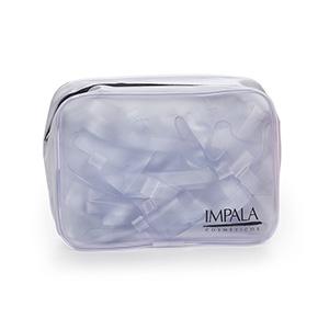 Jumas Produtos Promocionais - Nécessaire em PVC all clear translúcido.