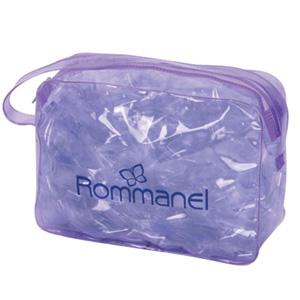 Jumas Produtos Promocionais - Necessaire em PVC cristal 020 com zíper e alça.