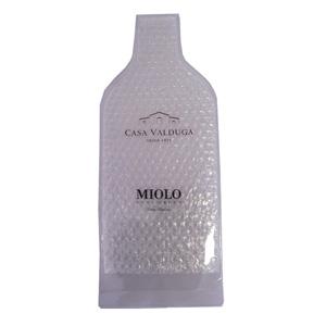 Jumas Produtos Promocionais - Porta garrafa em cristal 020 com saco bolha e fechamento em fita dupla. (MEDIDAS: 42 X 18). Garanta a segurança de suas garrafas mais preciosas!