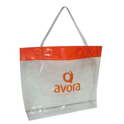 jumas - Sacola de PVC personalizada