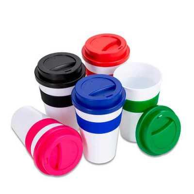 box-brindes - Copo plástico 480ml com tampa