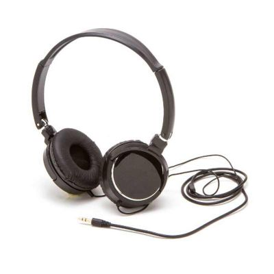 box-brindes - Headphone estéreo com fio pesonalizado