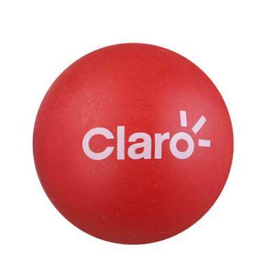 box-brindes - Bola anti stress em vinil, 5,5 cm diâmetro, gravação em tampografia em até 2 cores.