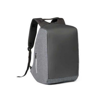 - Mochila para notebook. 900D de alta densidade e tarpaulin. Sistema anti-roubo: compartimento principal com zíper oculto e parte posterior com 2 bolsos...