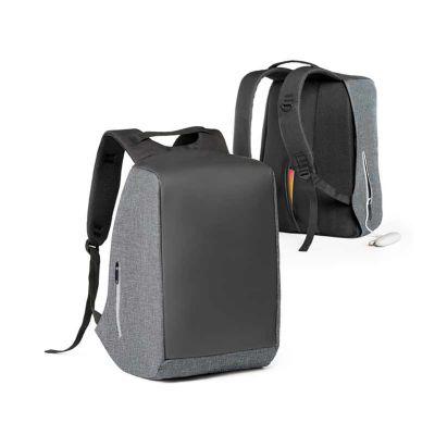 Mochila para notebook com sistema anti-roubo