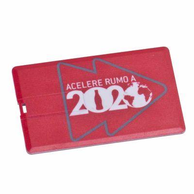 Pen Card plástico com impressão digital