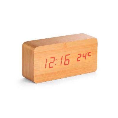 box-brindes - Relógio de mesa Led em MDF