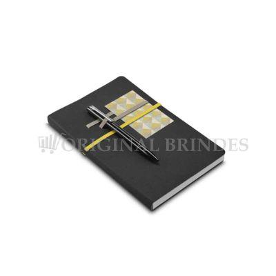 Original Brindes - Caderno de Couro Sintético