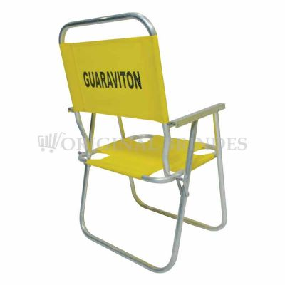 Cadeira de praia alta