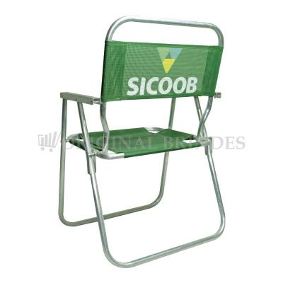 original-brindes - Cadeira de praia promocional WM