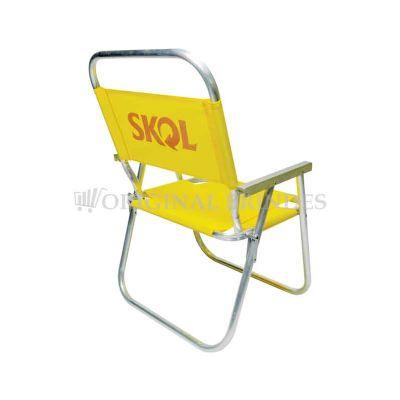 original-brindes - Cadeira de praia alta master