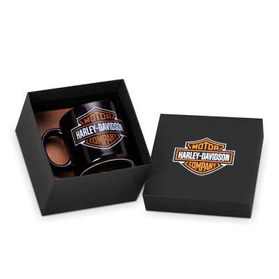 Projeto Promocional - Kit Caneca de porcelana com caixa cartonada