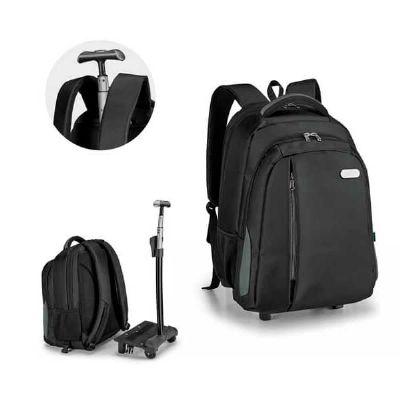 projeto-promocional - Mochila porta notebook com carrinho