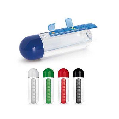 projeto-promocional - Squeeze com porta comprimidos
