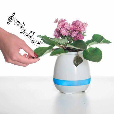 Projeto Promocional - Caixa de Som Vaso com Sensor e Bluetooth