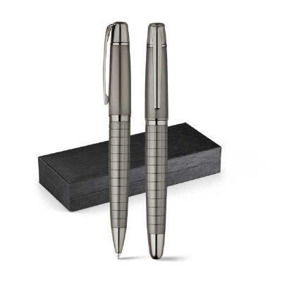 projeto-promocional - Conjunto de roller e esferográfica