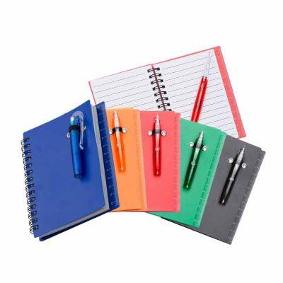 soma-brindes - Bloco de anotações com sticky notes e mini caneta