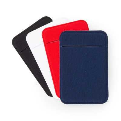 soma-brindes - Adesivo porta cartão de lycra para celular