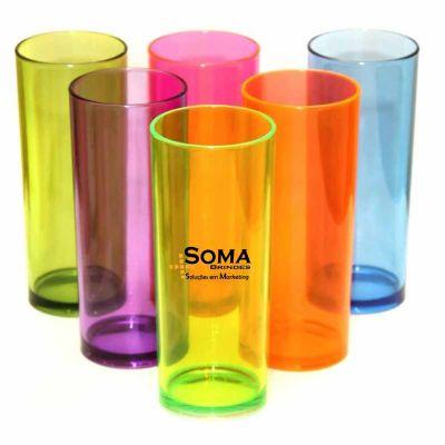SOMA Brindes - Copo long drink 330 ml em acrílico