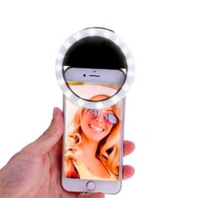 Soma Brindes - LUZ PARA SELFIE (SELF RING LIGHT)