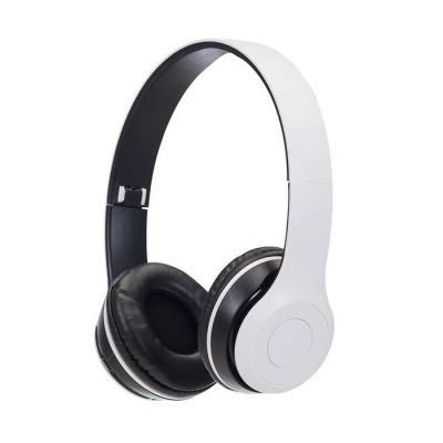 soma-brindes - Fone de ouvido bluetooth com pintura fosca e rádio FM. Material articulável plástico com hastes de altura regulável e protetor de couro sintético com...
