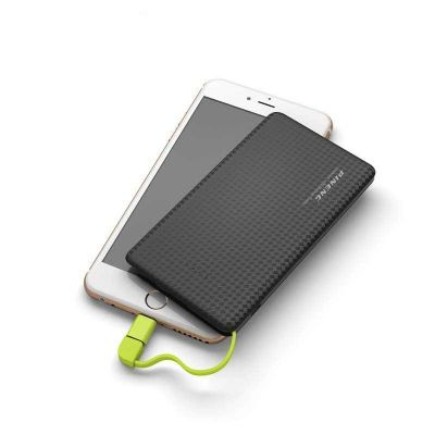 soma-brindes - POWER BANK COM ADAPTADOR LIGHTNING