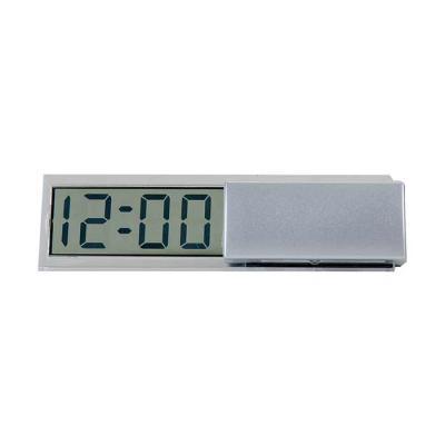 soma-brindes - Relógio plástico digital com visor lcd. Ao apertar duas vezes o botão MODE irá configurar o mês (aperte SET para alterar e após MODE para continuar co...
