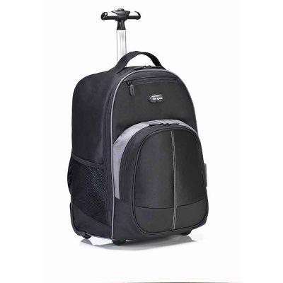 """karimex - Mochila para Notebook até 16"""" Compact Rolling Backpack com Rodas"""