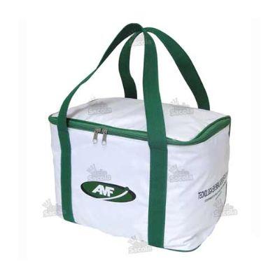 - Bolsa Térmica personalizada com alças de mão.
