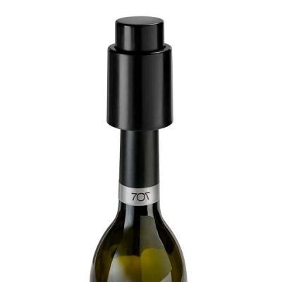 Rolha de vácuo para garrafa. ABS. Food grade. ø48 x 73 mm - QI Brindes