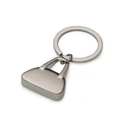 qi-brindes - Chaveiro metal formato bolsa
