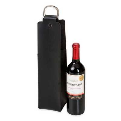 Estojo de Couro para Vinho Personalizado