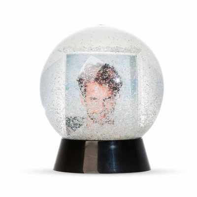 Globo de Neve Plástico para foto personalizado