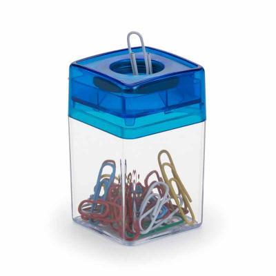 Porta-clips magnético em plástico